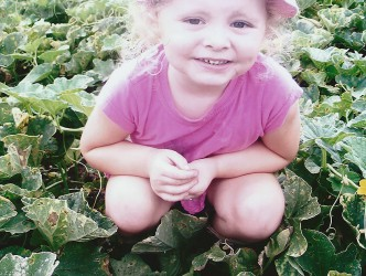 Kira Rose in the melon patch (17 Dec 2007)